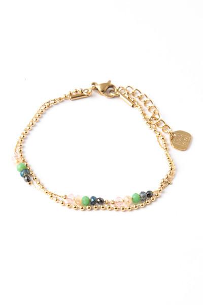 Bracelet Minca vert