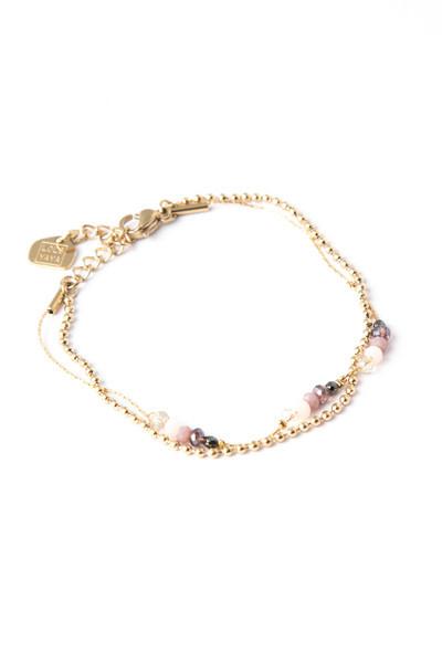 Bracelet Minca rose